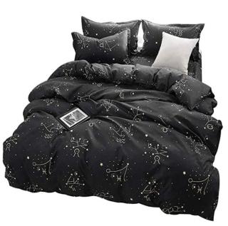 Zodiac bed quilt