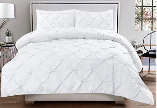 White bedding large