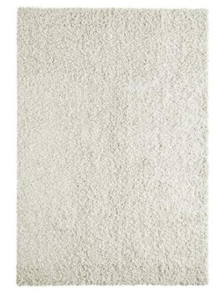 White rug for your living room
