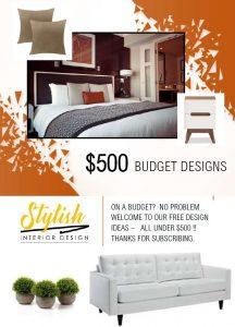 Free $500 Budget Room Designs