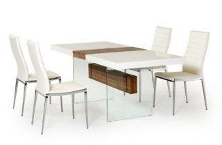 Dining table from contemporary furniture warehouse