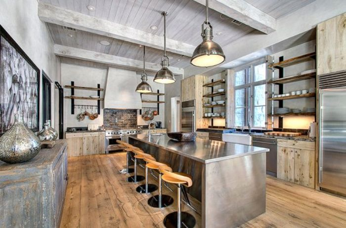 Industrial design kitchen